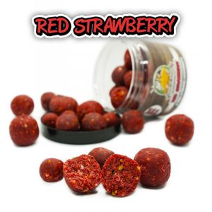 X-TRA Strong Hookbait – Red Strawberry